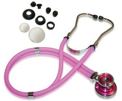 Sprague Rappaport Stethoscope, Adult, PINK, PINK, and HOT PI