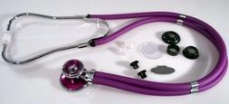 Sprague Rappaport Stethoscope, Purple Adult, Bling, and Purp