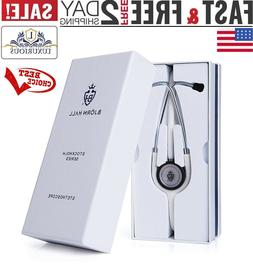 "Stainless Steel Clinical Stethoscope 29"" Dual Head Chestpi"