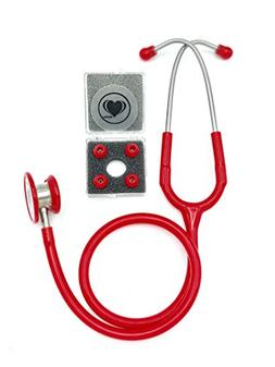 Wyltec Premium Stainless Steel Stethoscope - Dual Head - Che