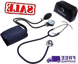 Stethoscope And Manual Adult Blood Pressure Cuff Kit Sphygmo