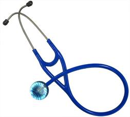 Ultrascope Adult Stethoscope with Royal Blue Tubing, Aqua St