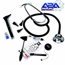 Stethoscope Set With Eye Chart+Taylor Hammer Tape Measure LE