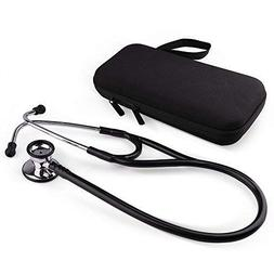 Stethoscope by LotFancy, Dual Head Diaphragm Bell for Adults