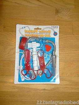 New Toy Medical Kit Pretend Play Stethoscope Scissors Syring